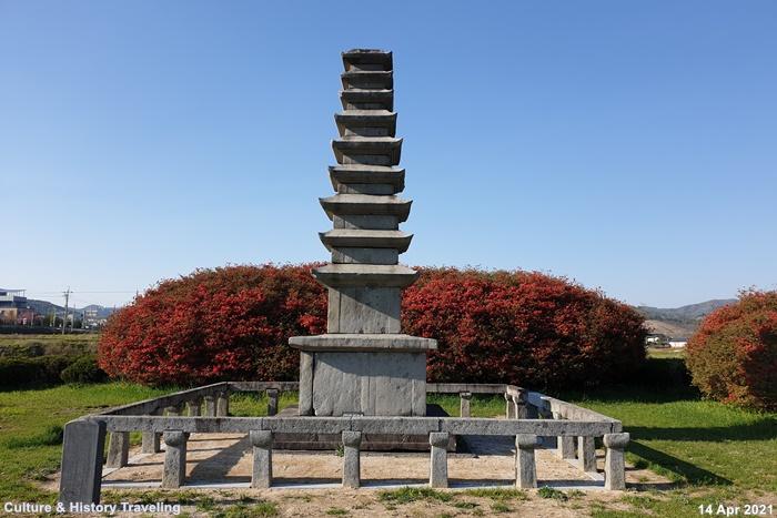청양 서정리 9층석탑 보물 18호 01-20210414