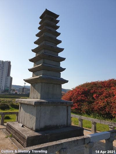 청양 서정리 9층석탑 보물 18호 13-20210414