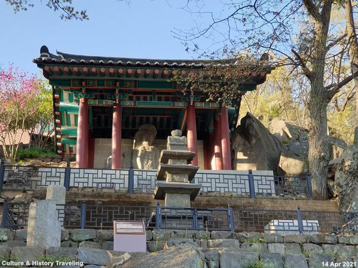 청양 읍내리 석조여래삼존입상 보물 197호 02-20210414