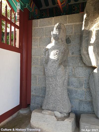 청양 읍내리 석조여래삼존입상 보물 197호 05-20210414